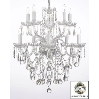 Ketterer 10-Light Crystal Chandelier