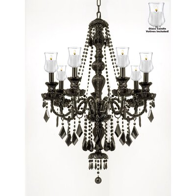 Keyser 7-Light Crystal Chandelier