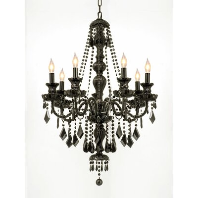 Gothic 7-Light Crystal Chandelier