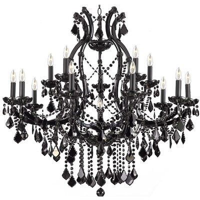 Dacia 16-Light Crystal Chandelier