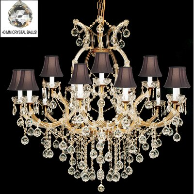 Maria Theresa 16-Light Crystal Chandelier