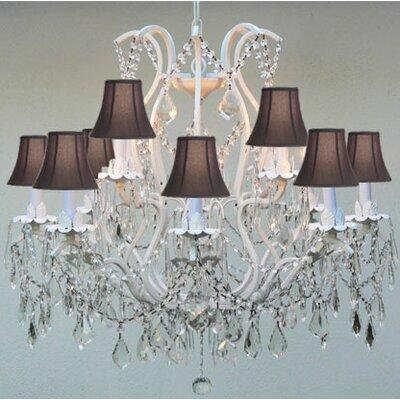 Versailles 6-Light Crystal Chandelier