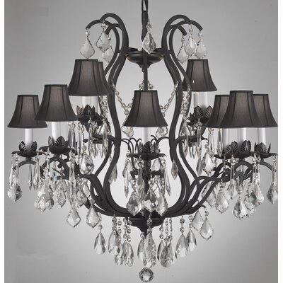 Clemence 12-Light Crystal Chandelier