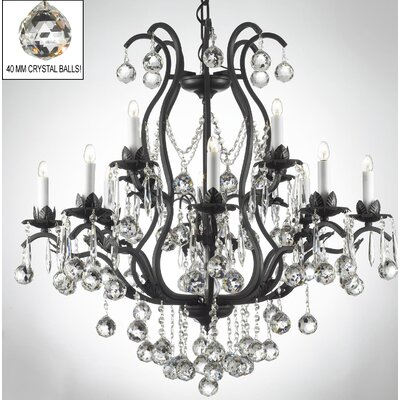 Clemence 12-Light Chain Crystal Chandelier