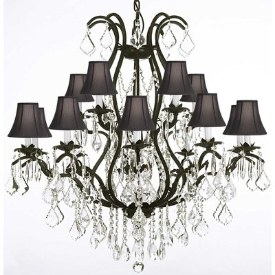 Clemence 15-Light Crystal Chandelier