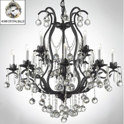 Alvan 15-Light Crystal Chandelier