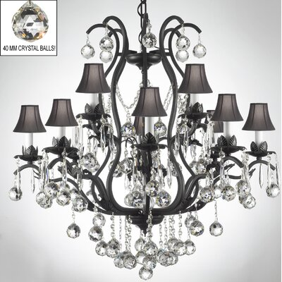 Kempton 12-Light Crystal Chandelier