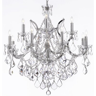 Maria Theresa 13-Light Crystal Chandelier