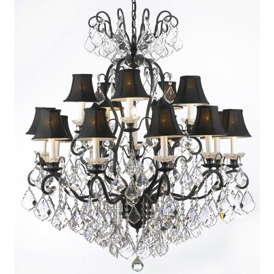 Clemence 16-Light Crystal Chandelier