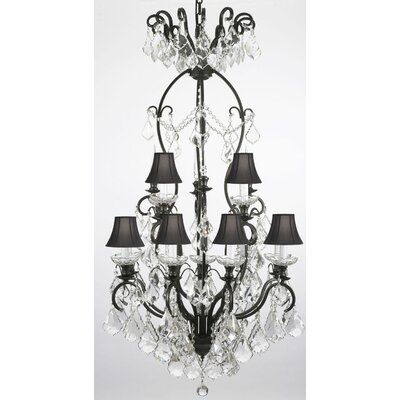 Clemence 13-Light Crystal Chandelier