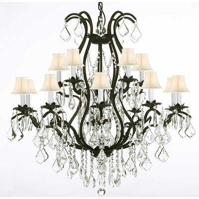 Alvan 15-Light Empress Crystal Chandelier