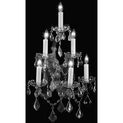 Keenum 6-Light Crystal Chandelier