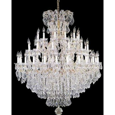 Maria Theresa 37-Lights Crystal Chandelier