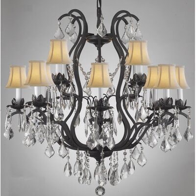 Alvan 12-Light Empress Crystal Chandelier