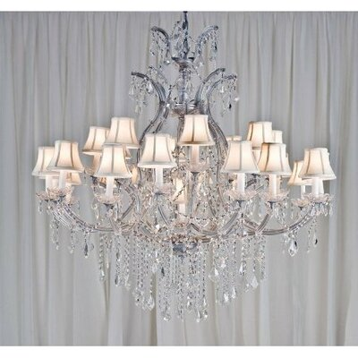 Alvarado 24-Light Empress Crystal Chandelier