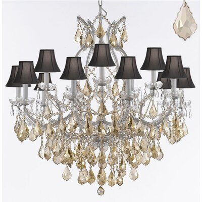 Keenum 11-Light Crystal Chandelier