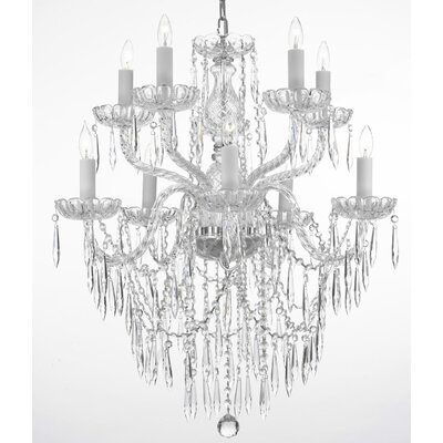 Kerfoot 10-Light Crystal Chandelier