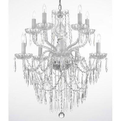 Kenyon 10-Light Crystal Chandelier