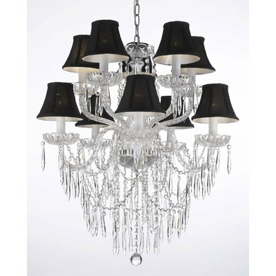 Keough 10-Light Crystal Chandelier