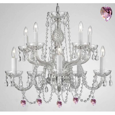 Kentwood 10-Light Crystal Chandelier