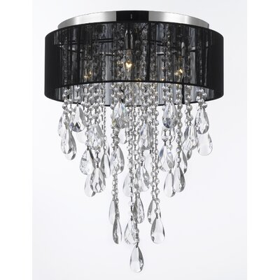 Clemence 4-Light Flush Mount