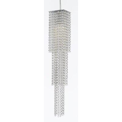 Howser 1-Light LED Crystal Pendant