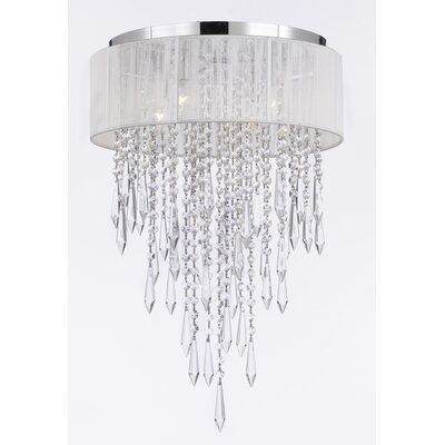 Borrego 4-Light Flush Mount