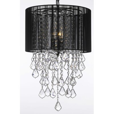 Kimmons 3-Light Drum Chandelier