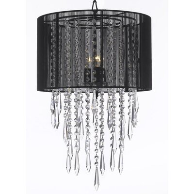 Empress 3-Light Drum Chandelier