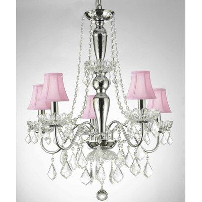 Elegant 5-Light Crystal Chandelier