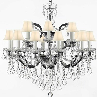 Mccall 18-Light Crystal Chandelier