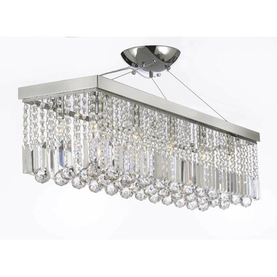 Howze 10-Light Kitchen Island Pendant
