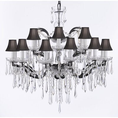 Clemence 18-Light Crystal Chandelier