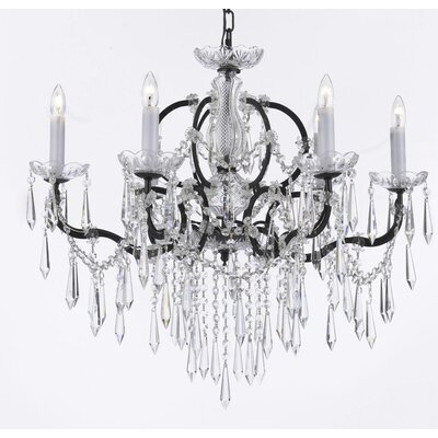 Kincade 6-Light Crystal Chandelier
