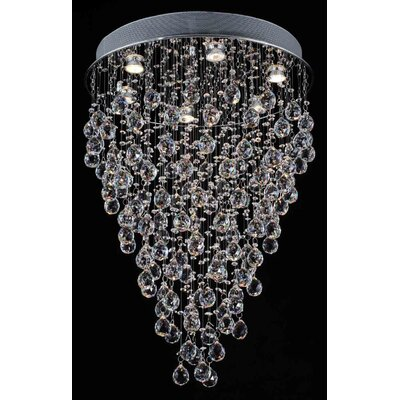 Aoki 6-Light Flush Mount