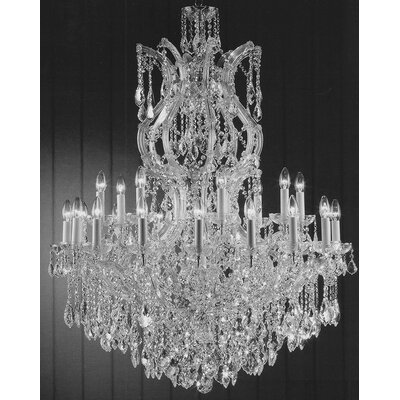 Alvarado 25-Light Crystal Chandelier