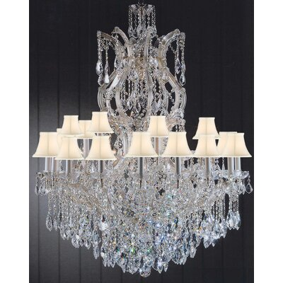 Maria Theresa 25-Light Crystal Chandelier