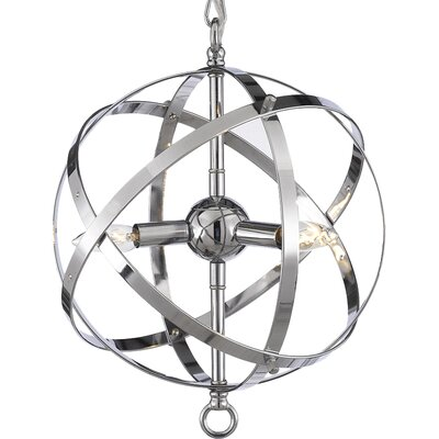 Seaberg 3-Light Globe Pendant
