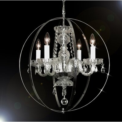 Royal 4-Light Globe Pendant
