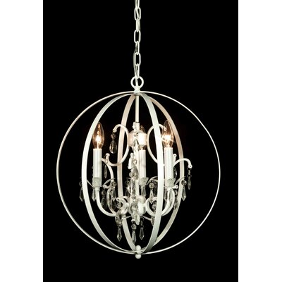Royal 3-Light Globe Pendant