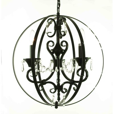 Meredith 3-Light Globe Pendant