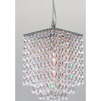Hubble 1-Light Crystal Pendant