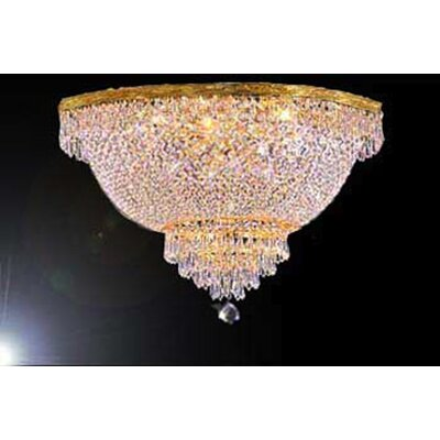 Loftis 9-Light Flush Mount