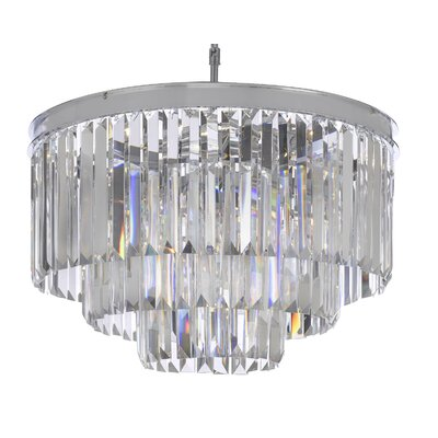 Empress Fringe 9-Light Crystal Chandelier