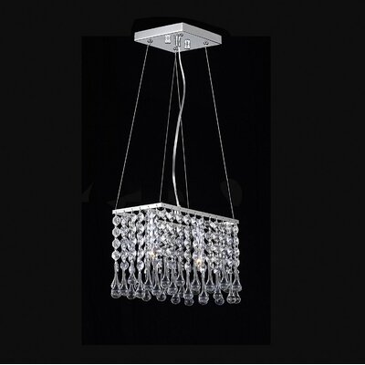 Huckabee Mini 2-Light Crystal Pendant