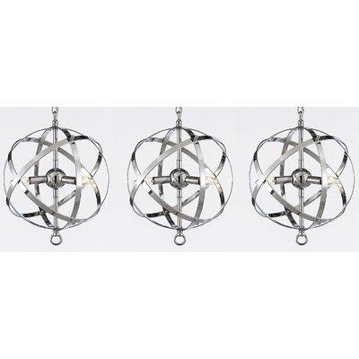 Genova 3-Light Globe pendant