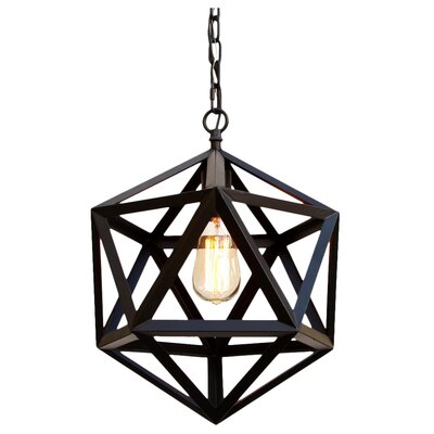 Polyhedron 1-Light Mini Pendant