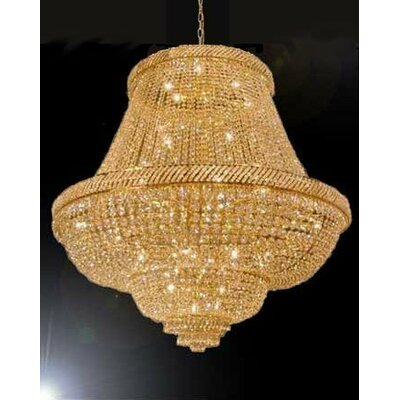 Logan French Empire 45-Light Crystal Chandelier