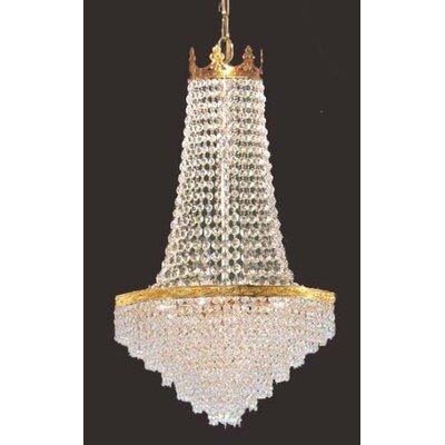 Logan Square Swarovski Crystal 4-Light Empire Chandelier