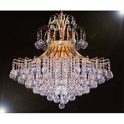 Kinchen 9-Light Crystal Chandelier
